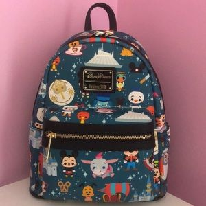 Disney Parks Loungefly Mini Backpack